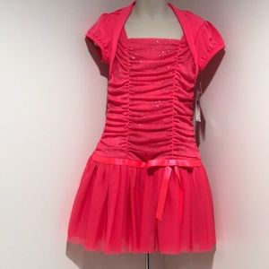 Size 6 Coral Formal Dress